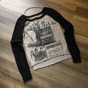 Mudd Graphic Sweater